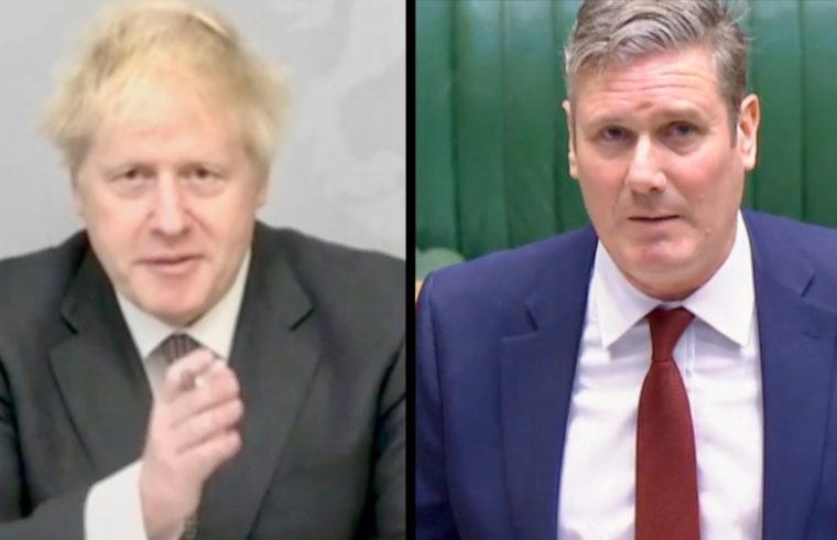 Live: First virtual PMQ's as Boris self-isolates