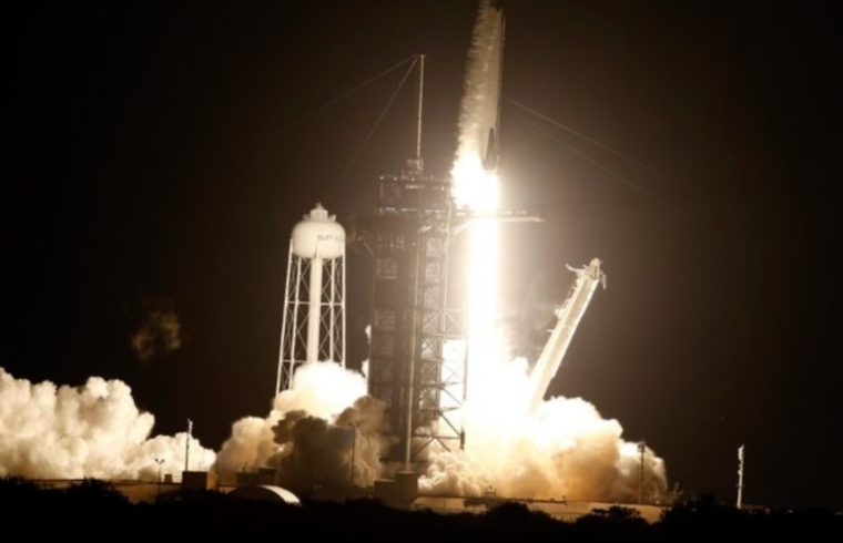 Launch of NASA's SpaceX Crew-1 to ISS
