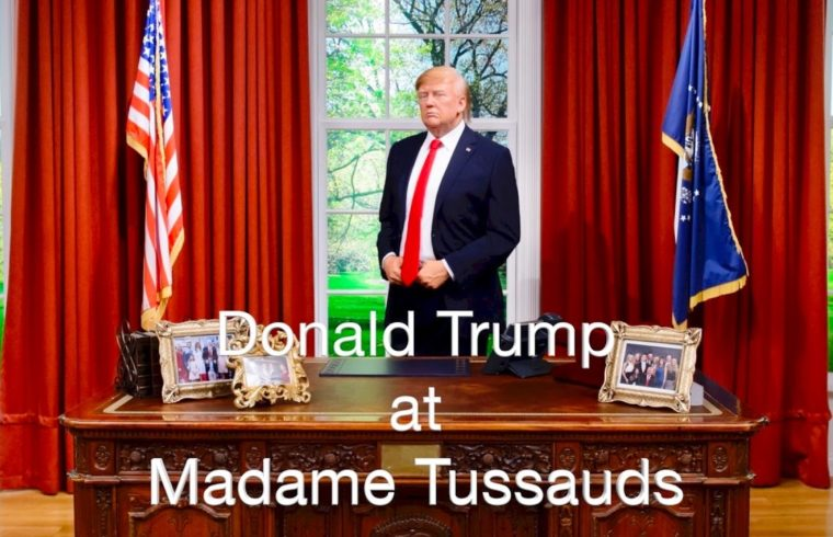 Trump on show at Madame Tussauds