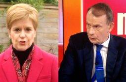 BBC's Marr grills Nicola Sturgeon on covid-19 deaths