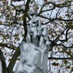 rare statue of a woman