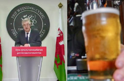 Wales: ban on sale of alcohol from 4 December