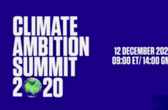 Live: Climate Ambition Summit 2020