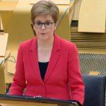 Nicola Sturgeon apologises for taking off mask