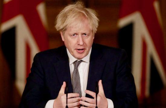 Boris Johnson Christmas: keep it short small and local