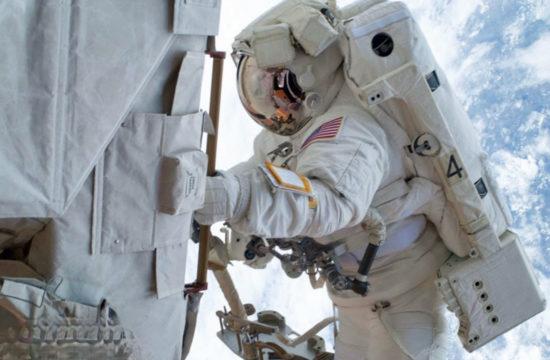 Live: NASA Astronauts spacewalk - 10:30 gmt