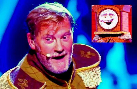 Masked Singer: Glenn Hoddle is Grandfather clock