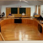 Scottish parliament inquiry room