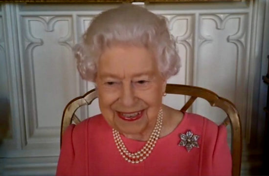 Queen: Covid vaccine didn't hurt at all