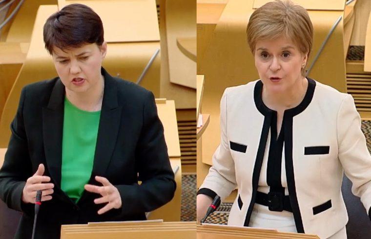 Sturgeon denies Salmond complainer breach claim