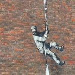 Banksy on Reading prison wall