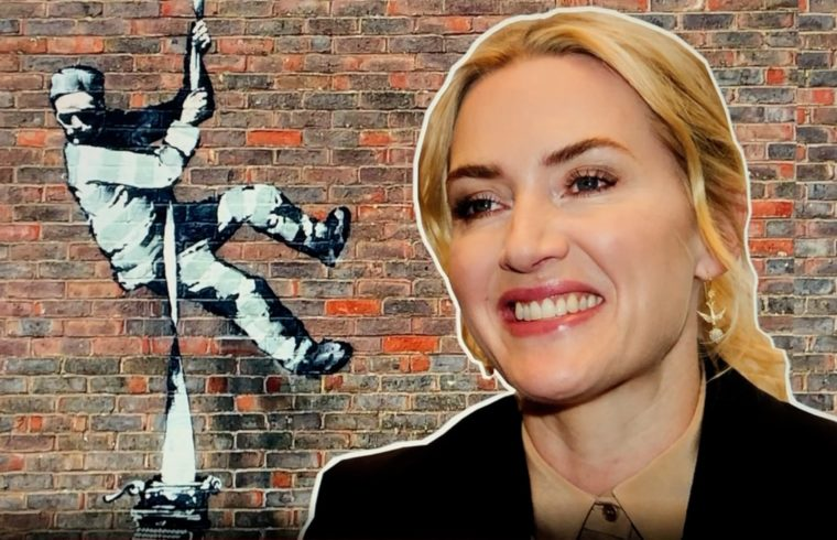 Kate Winslet - Banksy Art and Reading Prison
