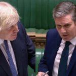 Boris Johnson - Keir Starmer