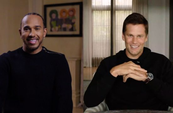 Talking Big - Lewis Hamilton and Tom Brady