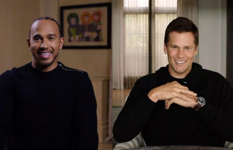 Talking Big - Lewis Hamilton and Tom Brady