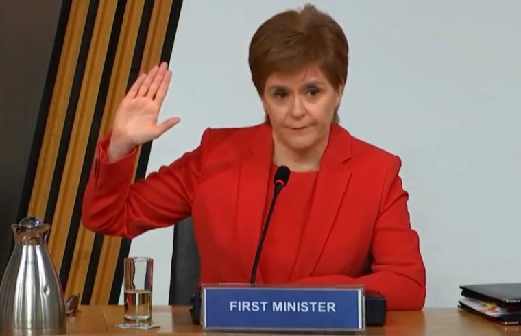 Nicola Sturgeon cleared of ministerial breaches