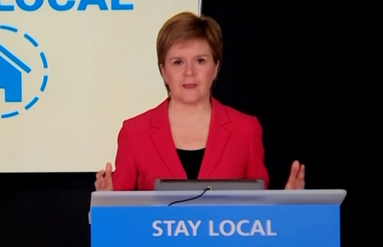 Scotland lifts travel ban from April 16