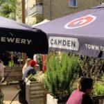 open beer garden