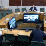 Cabinet minister attends select committee