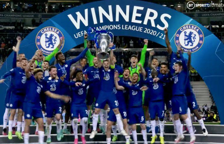 Manchester City vs Chelsea - UEFA Champions League Final