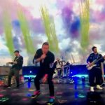 Coldplay Brit Awards with Higher Power