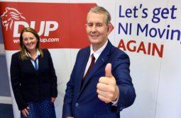 DUP: Edward Poots new leader