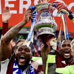 Leicester historic FA Cup win - the celebrations