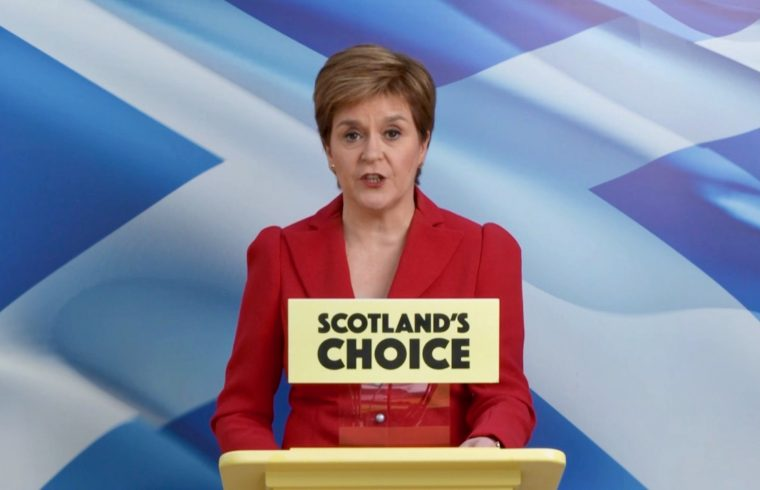 Nicola Sturgeon Hails SNP election win