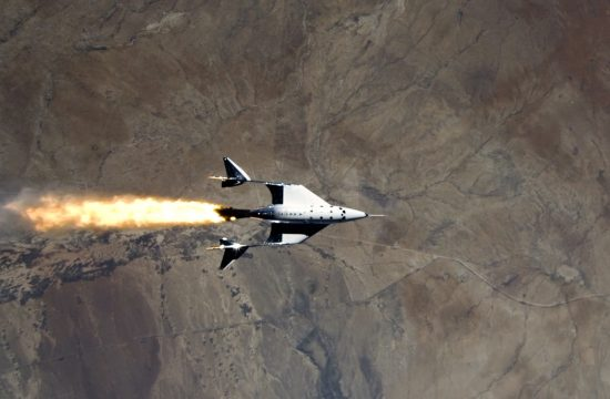 Virgin Galactic spaceflight first ever from New Mexico