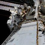 astronauts begin work