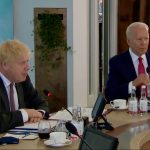 Boris Johnson - Joe Biden