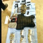weapons - drugs - cash seized