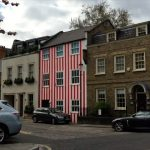 red striped house angered neighbours