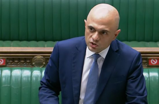 Sajid Javid - to end restrictions in England