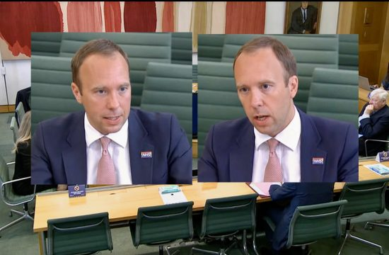 Health Secretary questioned