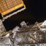 Spacewalk Installs New ISS Solar Arrays