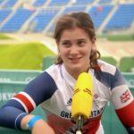 Bethany Shriever wins gold