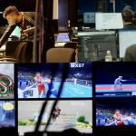 Broadcast Centre for Tokyo 2020 and virtual cheering