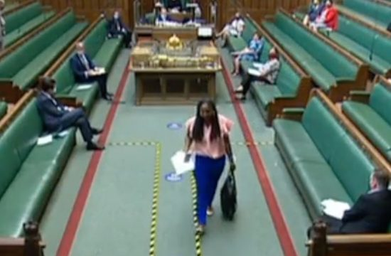 Labour's Dawn Butler ordered out of House of Commons