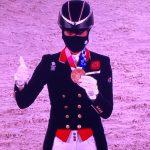 Charlotte Dujardin wins bronze