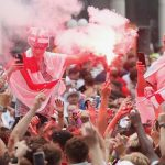 fans watch Euro 2020 final against Italy