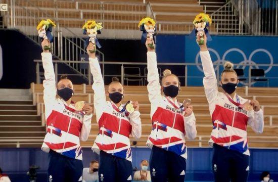 Tokyo: Bronze for Women's Gymnastics team