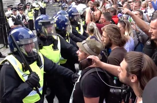 police cordon off downing Street