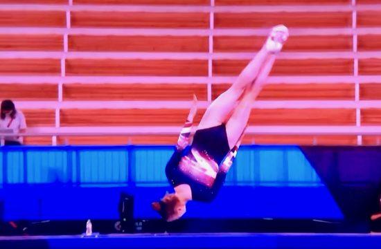 Team GB's Bryony bounces to bronze
