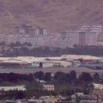 view of Kabul airport ahead of evacuation deadline