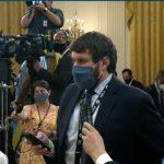 media asking Biden questions