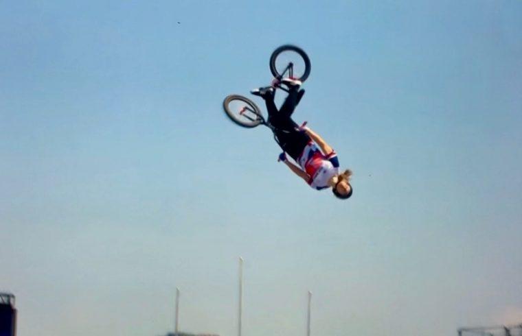 Tokyo: Charlotte wins BMX freestyle gold