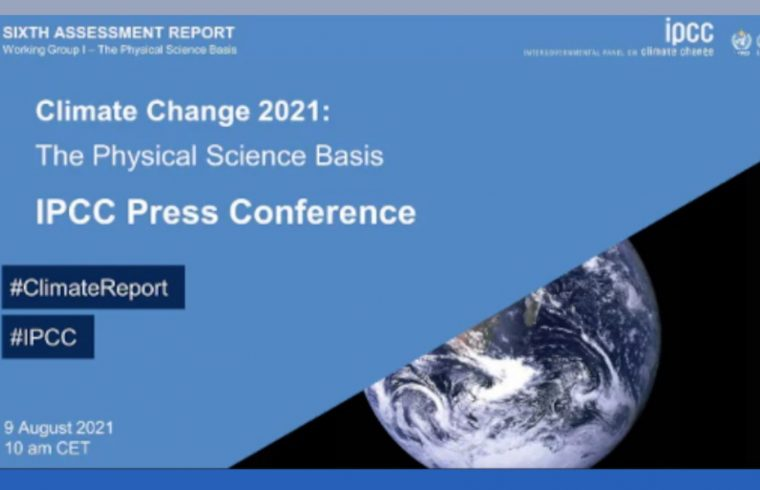 Live: Climate Change 2021 press conference