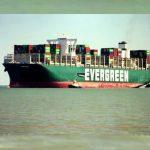 Ship that blocked Suez Canal Docks Felixstowe