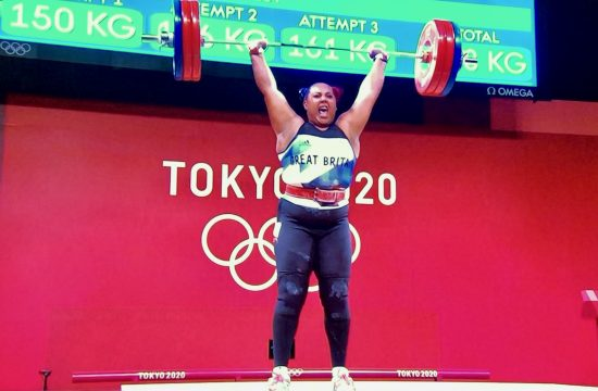 First Female Weightlifter to win a medal